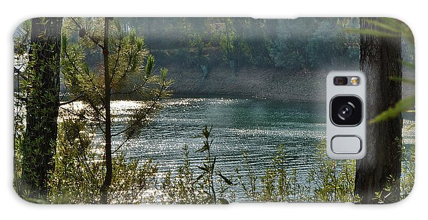 Forest Lake In Amendoa Galaxy Case