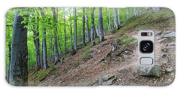 Forest On Balkan Mountain, Bulgaria Galaxy Case