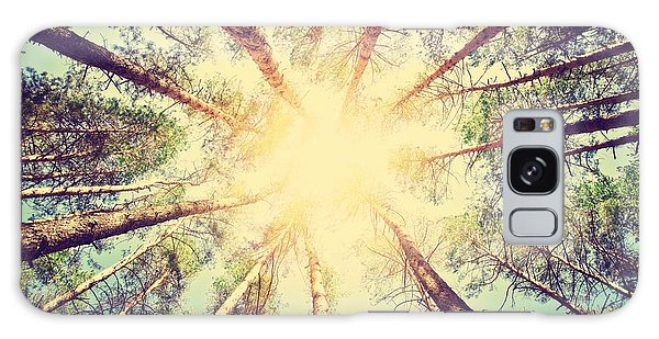 Mottled Galaxy Case - Forest. Retro Style by Triff