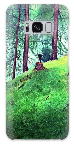 Forest Through The Trees Galaxy Case
