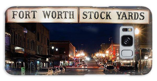 Fort Worth Stock Yards 112318 Galaxy Case