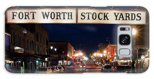 Fort Worth Stock Yards 112318 Galaxy Case