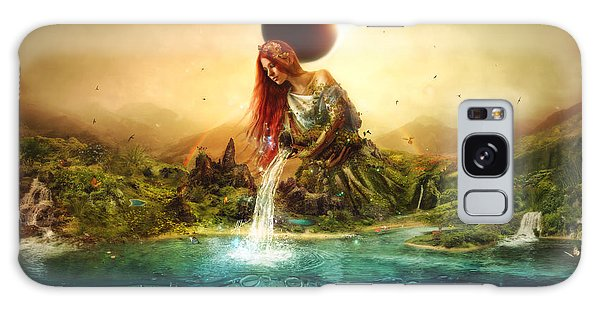 Mythology Galaxy Case - Fountain Of Eternity by Mario Sanchez Nevado