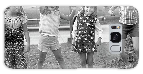 Four Girls, Jumping, 1972 Galaxy Case