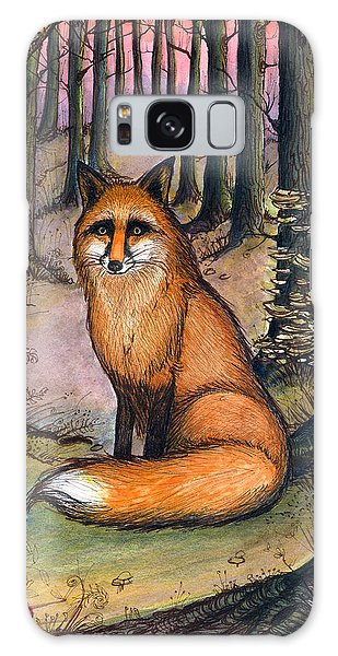 Fox In The Woods Galaxy Case