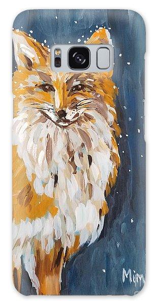 Fox Winter Night Galaxy Case