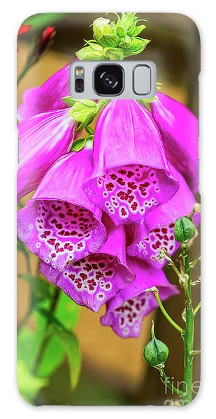 Galaxy Case - Foxgloves by Adrian Evans