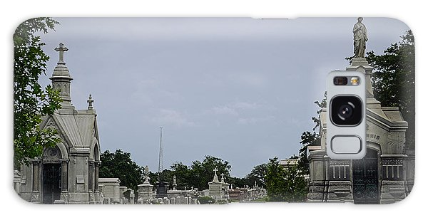Framed In The Cemetery Galaxy Case