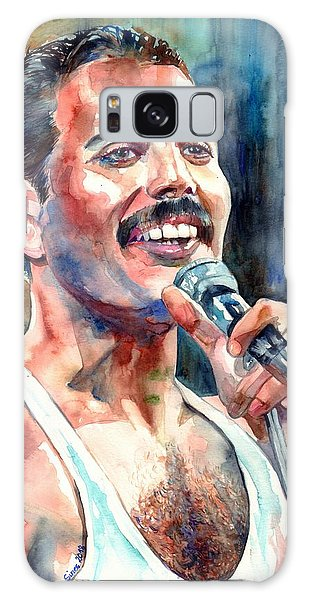 Success Galaxy Case - Freddie Mercury Live Aid by Suzann Sines