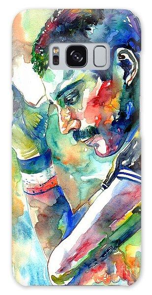 Success Galaxy Case - Freddie Mercury With Cigarette by Suzann Sines