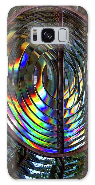 Fresnel Lens Point Arena Lighthouse Galaxy Case