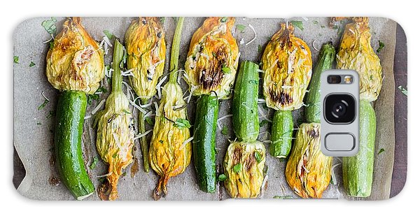 Tasty Galaxy Case - Fried Zucchini Flowers Stuffed With by Lapina Maria