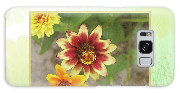 Friendship, A Smiling Indian Blanket Flower  Galaxy Case
