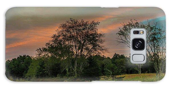 Pine Lands In Friendship Sunrise Galaxy Case