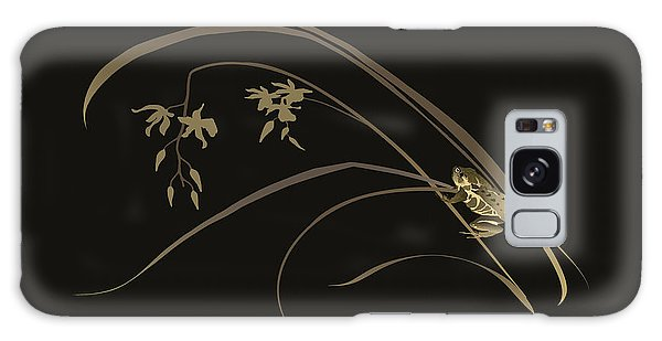 Frog And Orchid Galaxy Case