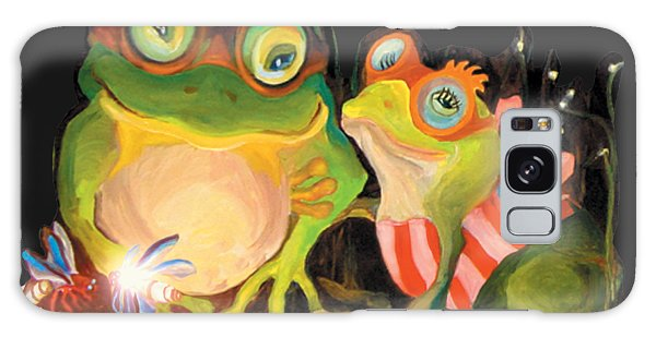Frogs Overlay  Galaxy Case