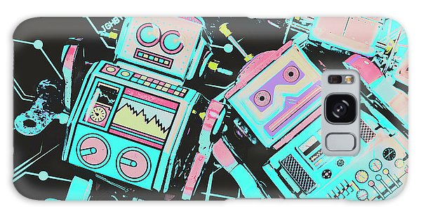 Technology Galaxy Case - From A Video Game Prototype by Jorgo Photography - Wall Art Gallery