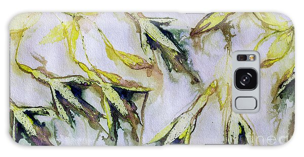 Fuchsia Eco Printed Magic Galaxy Case