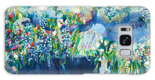 Galaxy Case - Full Bloom by Claire Desjardins