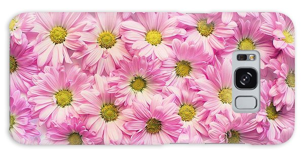 Full Of Pink Flowers Galaxy Case