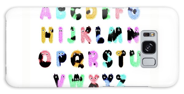 Language Galaxy Case - Furry Alphabet by Delphimages Photo Creations