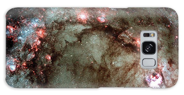 Galaxy Case featuring the photograph Galaxy M83 Star Birth Outer Space Image by Bill Swartwout Fine Art Photography