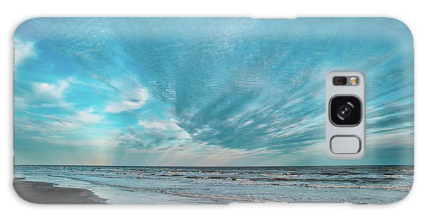 Galveston Island First Light Galaxy Case