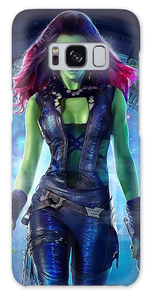 The Avengers Galaxy Case - Gamora Guardians Of The Galaxy by Geek N Rock