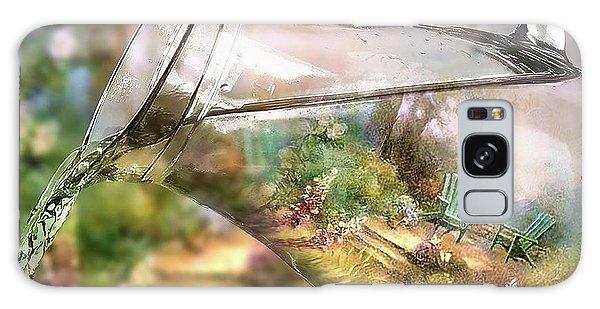 Garden Reflections Galaxy Case