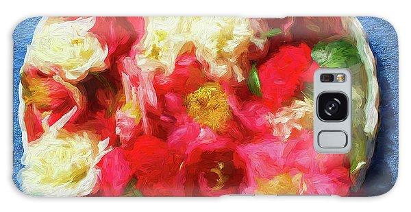 Gardenia Galaxy Case - Gardenias by Rich Franco