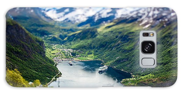 Shipping Galaxy Case - Geiranger Fjord, Beautiful Nature by Andrey Armyagov