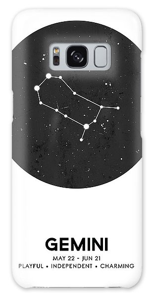 The Sky Galaxy Case - Gemini Print - Zodiac Signs Print - Zodiac Posters - Gemini Poster - Night Sky - Gemini Traits by Studio Grafiikka