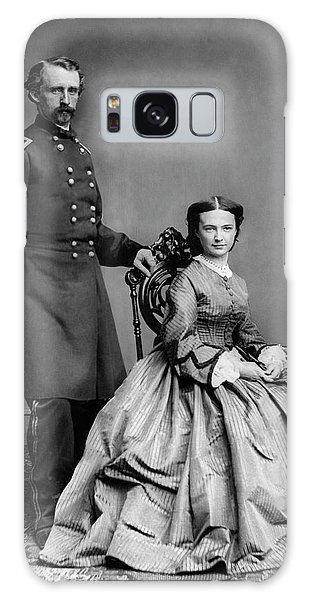 Civil Galaxy Case - General Custer And His Wife Libbie by War Is Hell Store
