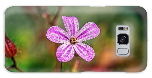 Galaxy Case - Geranium Robertianum by Adrian Evans