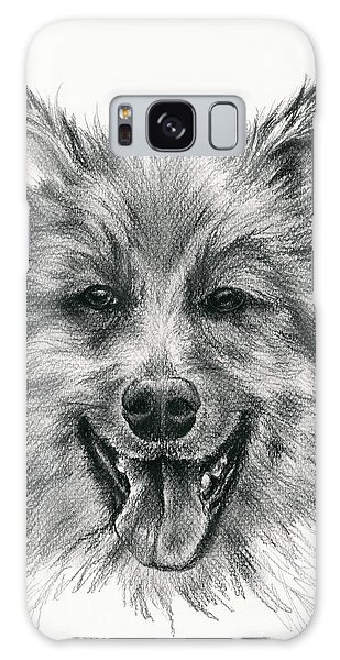 German Shepherd Smile Galaxy Case