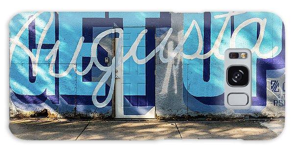 Get Up Augusta Ga Mural  Galaxy Case
