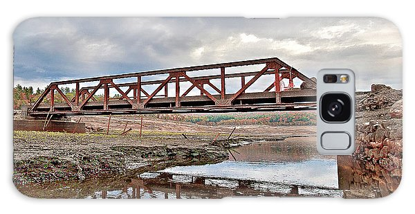 Ghost Bridge - Colebrook Reservoir Galaxy Case