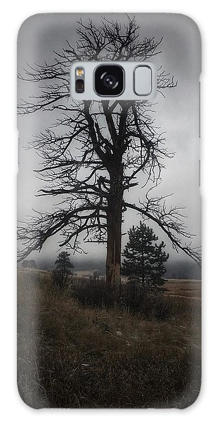 Galaxy Case featuring the photograph Ghostly Snag by Dan Miller