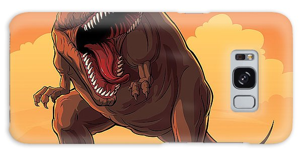 Claws Galaxy Case - Giant Prehistoric Monster Of Dinosaur by Den Zorin