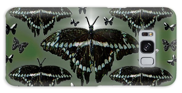 Giant Swallowtail Butterflies Galaxy Case