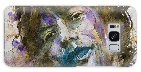 Stone Galaxy Case - Gimme Shelter - Mick Jagger - Resize Crop  by Paul Lovering