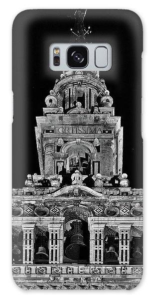 Giralda Tower In Monochrome. Seville Galaxy Case