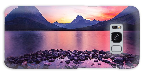 National Park Galaxy Case - Glacier National Park by Larry Mcmillian