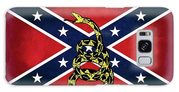 Us Civil War Galaxy Case - Gadsden Confederate Flag by Daniel Hagerman