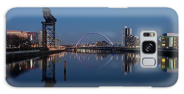Glasgow Relfected Galaxy Case