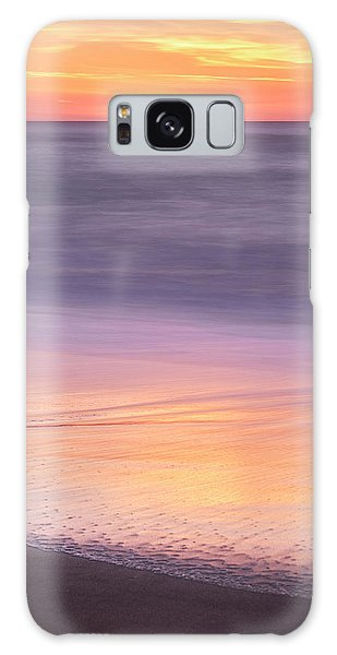 Galaxy Case featuring the photograph Gleneden Beach Sunset by Whitney Goodey