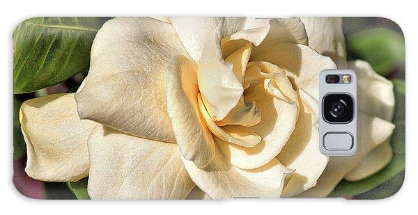 Gardenia Galaxy Case - Glowing Gardenia by Carol Groenen