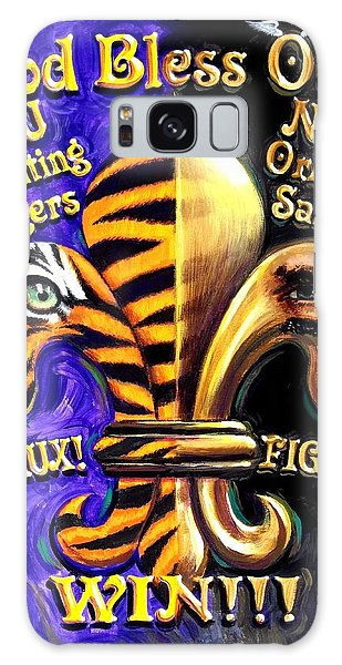 Cannon Galaxy Case - God Bless Our Tigers And Saints by Mike Roberts