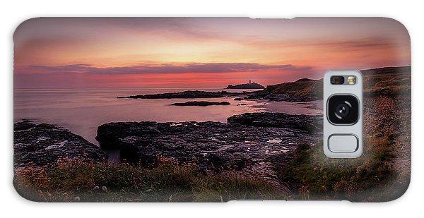 Godrevy Sunset - Cornwall Galaxy Case