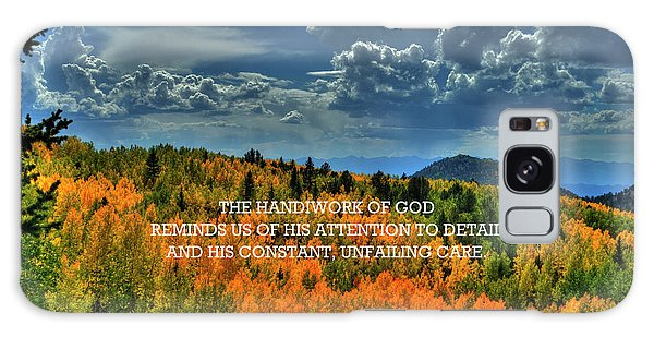 God's Handiwork Galaxy Case
